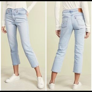 NWOT Levi's Wedgie Straight Leg Jeans in Dibs